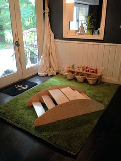 Real life play spaces for babies, toddlers, and preschoolers. Simple with lots of of space.