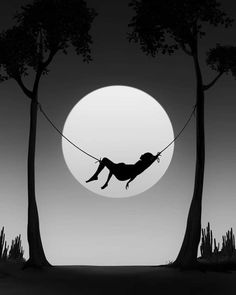 Turkish Artist Abdullah Evindar Creates Fantastic Surreal Silhouette Photo Collages - Photography, Landscape photography, Photography tips Silhouette Photography, Moon Photography, Silhouette Art, Collage Foto, Photo Collage Design, Photo Collages, Dark Art Drawings, Art Drawings Sketches, Silhouette Fotografie