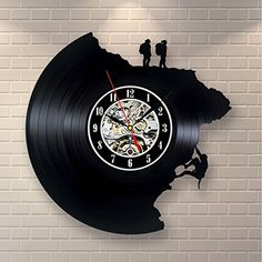 Climbing Decor Vinyl Record Clock Home Design Wall Art Outdoor Store [gallery]  Brand new, never used clock made of old used vinyl record. Be prepared to reveal the new sides of old school stuff. Feel free to ask about any custom changes you wish to have. Detailed information about the product: – the clock is in reality working and the mechanism is actually quiet; – the clock face is a sticker and you can also change it for no additional…