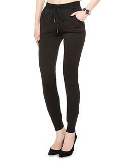 Zippered Hem Jogger Pants