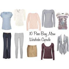 10 Piece Busy Mom Wardrobe Capsule
