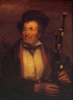 La gaita, 1813 - David Wilkie