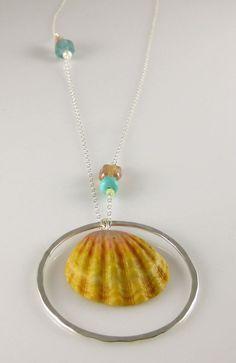 Sunrise Shell Necklace :)
