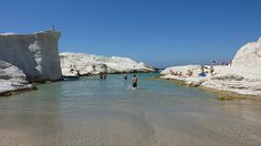 Sarakiniko beach, Milos, Greece
