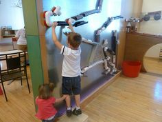 metal wall and PVC pipe for cars/balls
