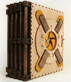 #livro #quebra-cabeça #inteligência #madeira