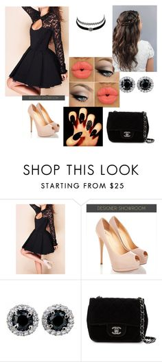 """""""Homecoming"""" by queenyara ❤ liked on Polyvore featuring Charlotte Russe and Chanel"""