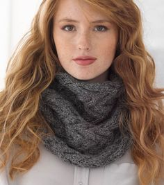 Knitted chunky Heartland cowl!