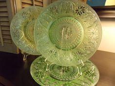 Vintage TIARA CHANTILLY Dinner Plates by VintageCreativeAccen, $14.00