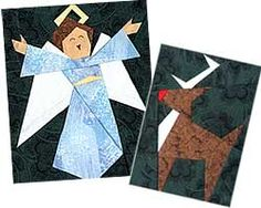 Paper Panache Paper-Pieced Last Minute Christmas Motifs Quilt Pattern                                                                                                                                                                                 More