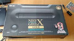 SNK NEO-GEO NEO GEO X Gold Limited Edition Plus SD Card USB Playmore Tommo  249.99End Date: Friday Sep-30-2016 22:28:48 BSTBuy It Now for only: 249.99Buy It Now | Add to watch list