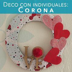 #BC-Learning te enseña a elaborar una #Corona para dar un ambiente de fectividad a tu hogar u negocio en #SanValentin. #Recicla #individuales y #papelesdecorativos. Ahora, manos a la obra. #ValentinesDay #CoronaSanValentin #Reduce #Reutiliza #Recicla #DIY #Manualidades #Bricolage