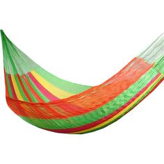 Hand-woven hammock with steel hardware. Crafted by Maya Artists of the Yucatan in Mexico.  Product: HammockConstruction M...
