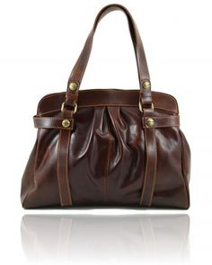 Borsa donna in pelle Marrone