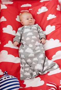 Farg Form Moln Cloud clothing and nursery collection available at Northlight Homestore