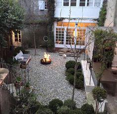 Rock gravel landscaping ideas patio backyard pea landscape design edging outdoor and .