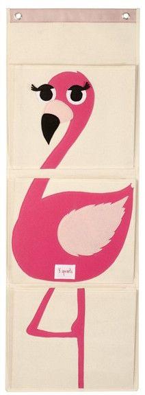 Flamingo Hanging Wall Organizer