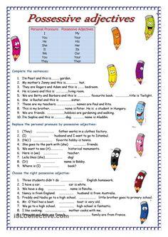 Adjectives | FREE ESL worksheets