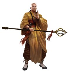m Monk Robes Staff avatar aang -- tibetan monk garment \ Fantasy Warrior, Fantasy Rpg, Medieval Fantasy, Dnd Characters, Fantasy Characters, Fantasy Inspiration, Character Inspiration, Character Concept, Character Art