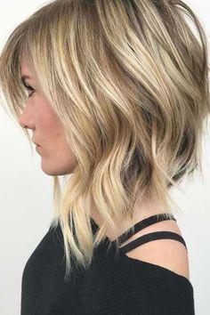 Edgy Bob Haircuts, Layered Bob Hairstyles, Hairstyles Haircuts, Spring Hairstyles, Thick Hair Haircuts, Wedding Hairstyles, Beach Hairstyles, Modern Haircuts, Party Hairstyles