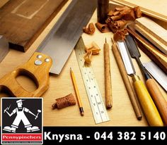 At #PennypinchersKnysna, we provide you with the right tools for your #carpentry needs. We offer tools that cover various aspects of woodwork, whether you're creating a site office or erecting roof structures. You can contact us on 044 382 5140 for more information. #diy