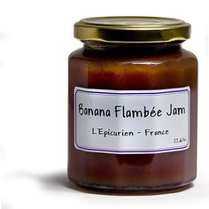 French Jam - L'Epicurien Banana Flambee - 11.65 oz: $11.24