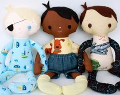 SALE Baby Bumblebee PDF Doll Pattern by bitofwhimsyprims on Etsy