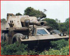 SADF.info G6 - 155mm Self - Propelled Artillery