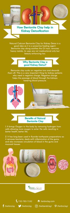 Natural healing clay detox kidney as bentonite clay fundamentally sucks on negative ions and discards them off and also soothes the GI tract. Healing Clay, Natural Healing, Calcium Bentonite Clay, Heavy Metal Detox, Kidney Detox, Metals, Improve Yourself, Herbs, Good Things