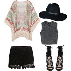 """""""Outfit inspiration: The last summer days"""" by www.feliciards.com on Polyvore"""