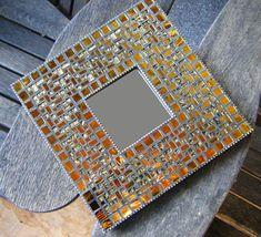 Mosaic Mirror in Gold
