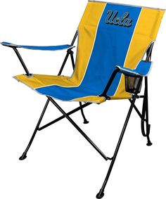 NCAA Tailgating Folding Chair with Carrying Bag UCLA Bruins