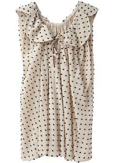 bon bon blouse / tsumori chisato #top #style #dots