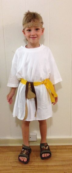 10 minute nativity shepherd costume from a bath towel vanillajoy david and goliath costume google search solutioingenieria Gallery