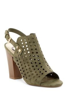 G by GUESS Jrake Perforated Open Toe Mule