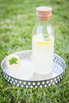Idalny sposób na upał - Prosta domowa lemoniada ⋆ M&M COOKING Limoncello, Glass Of Milk, Drinks, Drinking, Beverages, Drink, Beverage