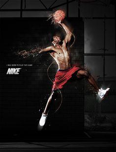 nike basketball ads