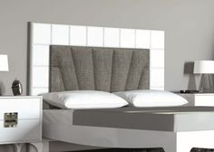 Cabecero lacado y tapizado, mod: MBX1143