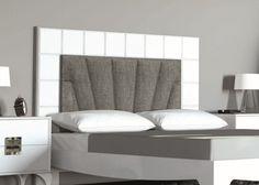 Tête de lit laquée  et garnie en tissu. Mod. MBX1143