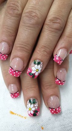 Coffin Nails, Acrylic Nails, French Nail Designs, French Nails, Fun Nails, Candy Cane Nails, Nail Arts, Fairy, Designed Nails