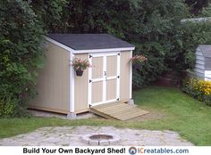Diy Shed How To Build A Simple Pinterest Storage Building Plans Buildings And
