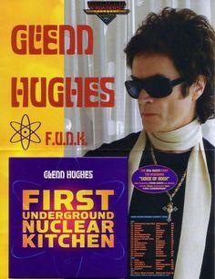 "Glenn Hughes ""First Underground Nuclear Kitchen"" ~ F.U.N.K. promo flyer ~ May 2008"