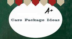 #Collegiate Care Package Ideas - #College #CarePackages Blog