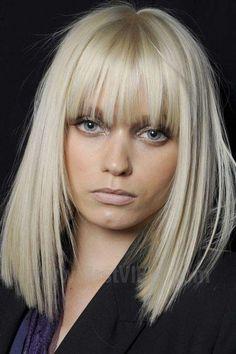Frizure sa ravnim šiškama   tražiš.me - Tražilica Vaše Lepote   Moda   Frizure   Šminka   Lepota   Zdravlje