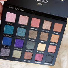 @shopvioletvoss Drenched Metal palette #drenchedmetal #violetvoss by makeupbyhanoody