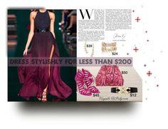 """Stylish for Less"" by viryabo on Polyvore featuring ESPRIT, Lipsy, River Island, Stella & Dot, jewelry, handbag, fashionset, halterdress and peepholeshoes"