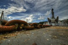 Rusting Graveyard of Abandoned French Navy Ships