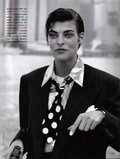 Editorial: Style Gangster (1991)  Фотограф: Peter Lindbergh