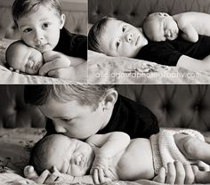 brother & baby, i would do thid if i ever had a new baby