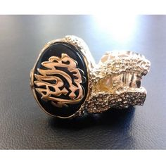 Amazing vintage & unique.  Brass gold plated with the inscription ما شاء الله. Can be in silver plated upon request. Flexible to fit all finger sizes#www.ananasa.com